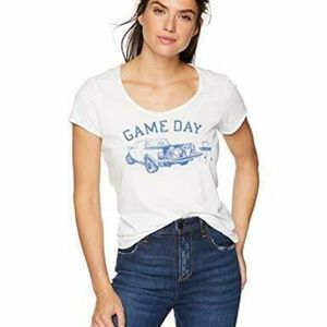 Life is Good Womens T-Shirt Game Day
